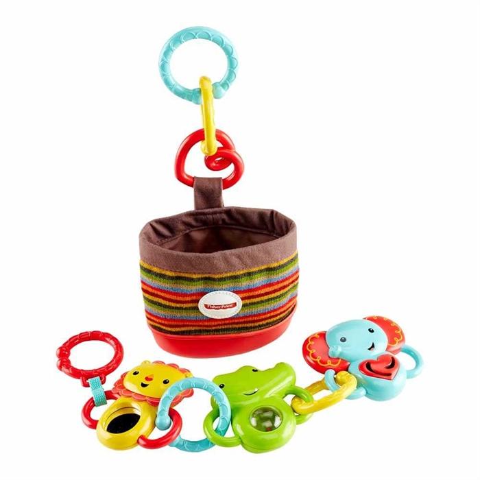 費雪嬰兒車小吊掛玩具DFP25