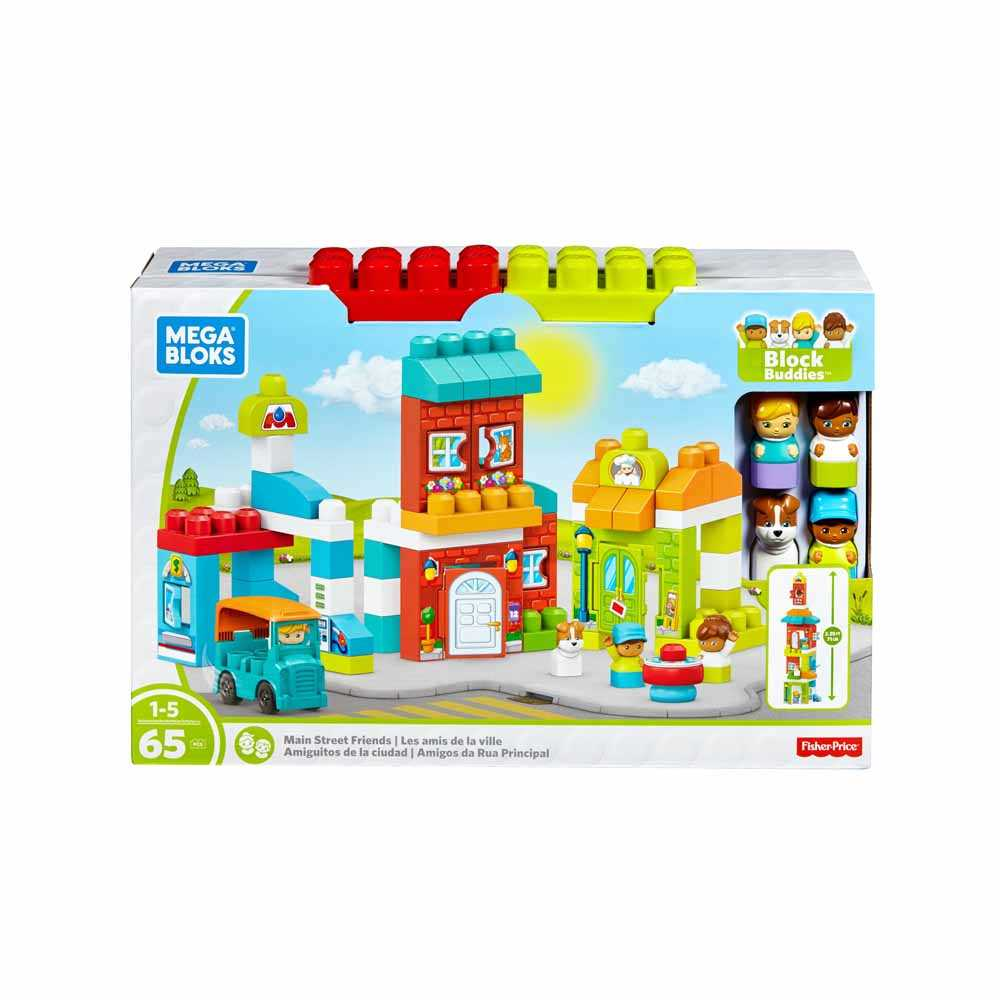 Mega Bloks® Day In Town Storytelling Playset FFG36