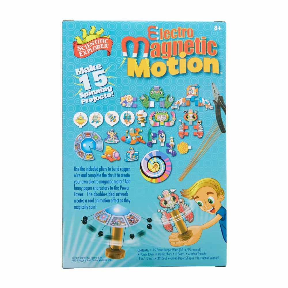 Scientific Explorer Electro Magnetic Motion SE-810170