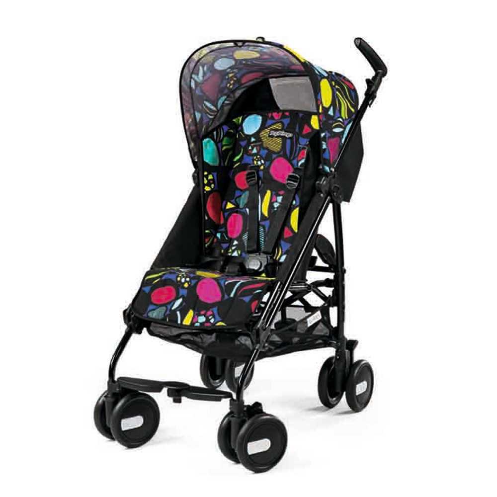 Peg-Perego意大利嬰兒手推車C38-MINI(黑色)