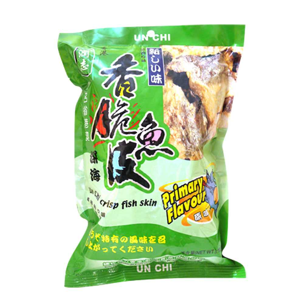 潤志香脆魚皮100克(原味)
