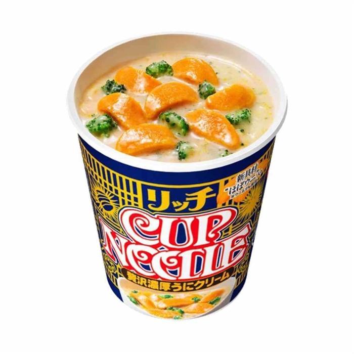 日清海膽奶油杯麵72g