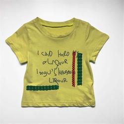 班比奇新款女童短袖圆领T恤00304