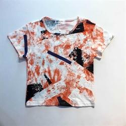 班比奇新款男童短袖圆领T恤00393